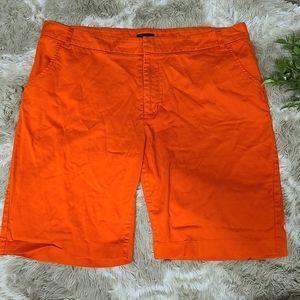 Sofia Vergara Sunset Orange Shorts E